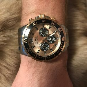 Invicta Speedway in rose gold